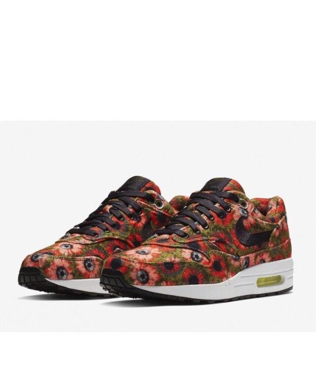 Nike Air Max 1 Premium Se Solar Daisy 858876-003 w Receipt Size 10