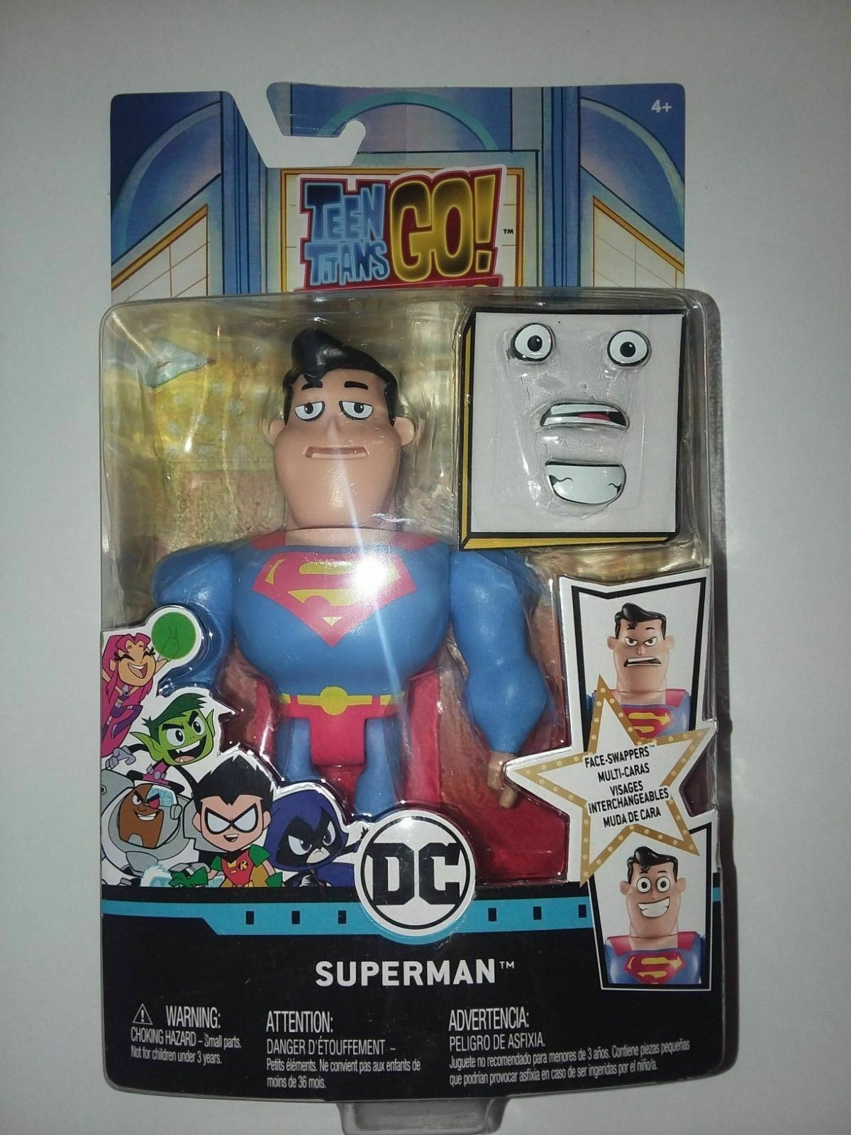 to The Movies Face-swappers Superman Figure Teen Titans Go