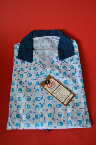 ORIGINAL DDR Kinder Schlafanzug lang blau Dreiklang Gr.158
