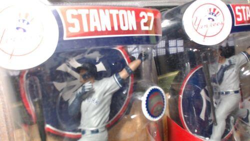 lot of 2 Giancarlo Stanton New York Yankees Imports Dragon MLB Baseball Figure