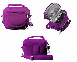 Nintendo-DS-Bag-Travel-Carry-Case-for-DS-2DS-3DS-DSi-XL-Purple