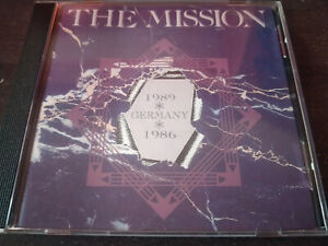 THE MISSION  - Germany 1986/1989 (Live) CD New Wave / Goth Rock