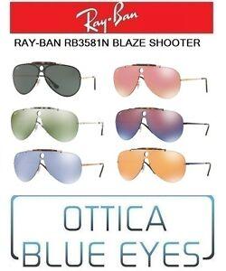 eb58f6fe04e Image is loading RAYBAN-Sunglasses-rb3581-Blaze-Shooter-Sunglasses-RAY-BAN-