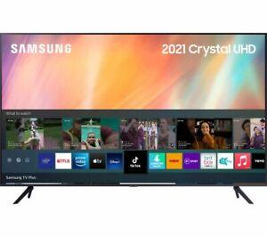 "SAMSUNG UE75AU7100KXXU 75"" Smart 4K Ultra HD HDR 3840x2160p LED TV Split Screen"