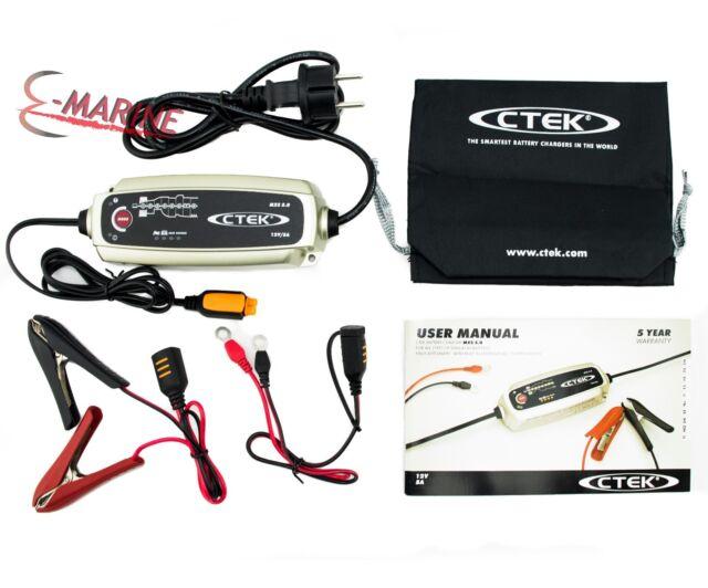 CTEK Caricabatteria MXS 5.0T 12V 56-305 Compensazione temperatura