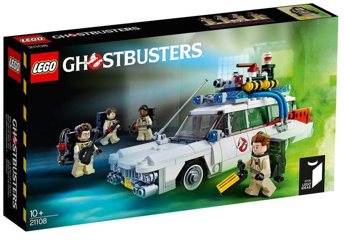 Lego ®  Ideas Set 21108 GHOSTBUSTERS voiture ECTO - 1 Ghostbusters nouveau OP 21109 21110  classique intemporel