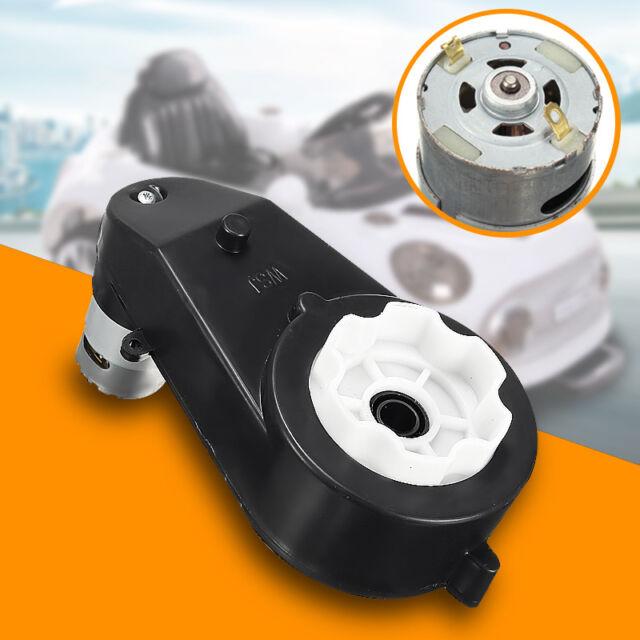 6v 18000 rpm getriebe mit motor f r kinderfahrzeuge elektro auto kinderauto neue ebay. Black Bedroom Furniture Sets. Home Design Ideas