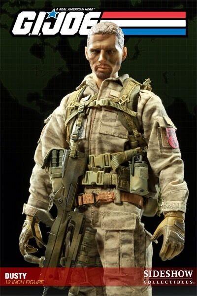 Sideshow G.I. Joe Dusty 1 6 Scale Cobra Desert Trooper
