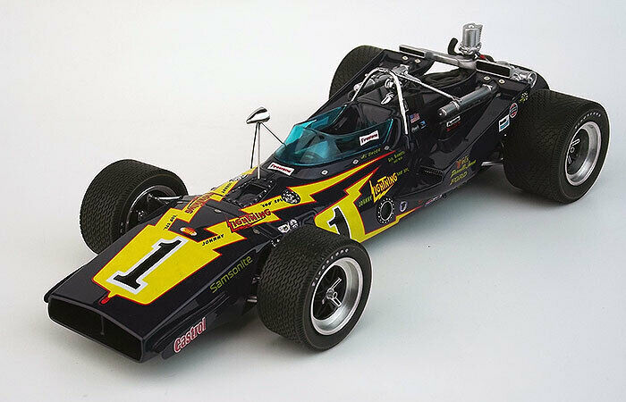 REPLICARZ 1971 Johnny Lightning PJ Colt Winner Indy 500, Al Unser Sr 1 18
