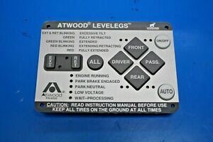 """ATWOOD 66555 LEVELEGS REPLACEMENT KEYPAD """"New with 1-YEAR warranty"""""""