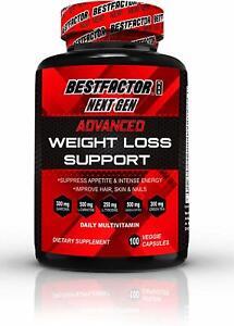 Appetite Suppressant Diet Pills for Women & Men by BESTFACTOR 100 Veggie Caps
