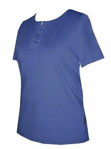 Schneider-Sportswear-Damen-Shirt-Pulli-T-Shirt-Sportshirt-Pullover-Gr-40-blau