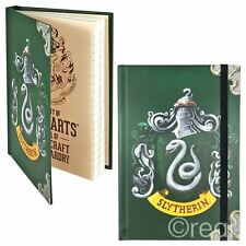 New Harry Potter A6 Slytherin Notebook Hogwarts Note Pad Journal Mini Official
