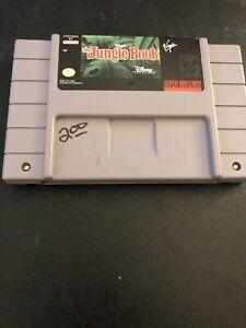 The-Jungle-Book-Super-Nintendo-SNES-Cartridge-Game-Cart-Original-Disney-039-s-Disney