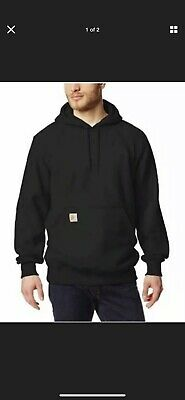 Carhartt Mens Rain Defender Paxton Heavyweight Sweatshirt,New Navy,XXX-Large