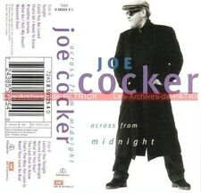 Joe COCKER : 'Across from midnight' 1997 : K7 Audio Tape Cassette