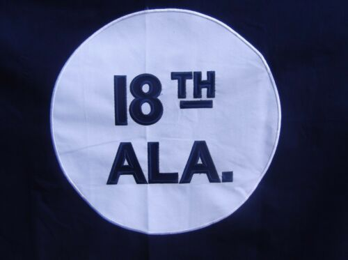 CSA GEN HEAVy COTTON 3 FEET X 5 FEET 18th  ALABAMA CIVIL WAR FLAG HARDEE