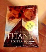 Titanic Poster Book Joseph Montebello & James Cameron
