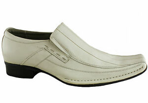 SLATTERS-MENS-EASE-SLIP-ON-LEATHER-DRESS-SHOES-CASUAL-WEDDING-FORMAL-FASHION