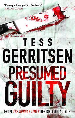 """AS NEW"" Gerritsen, Tess, Presumed Guilty Book"