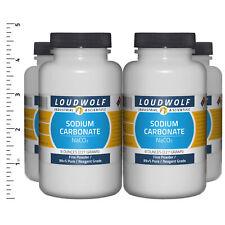 Sodium Carbonate 2 Lb Total 4 Bottles Reagent Grade Fine Powder Usa Seller