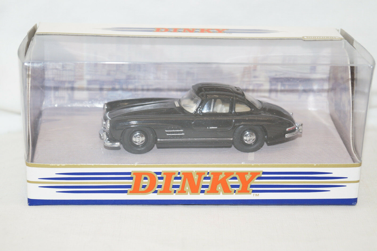 Dinky Collection DY-12 B Mercedes Benz 300SL Gullwing 1955 black 1 43 Matchbox