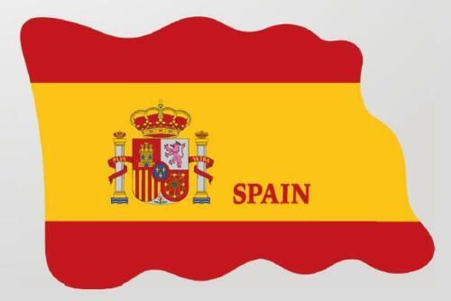 Espagne ESPANA magnétique drapeau drapeau pays Design de époxyde voyage souvenir