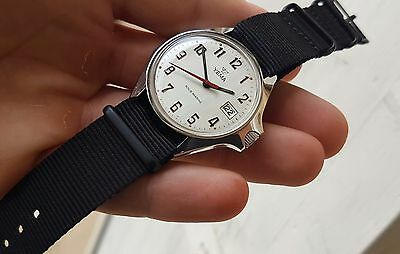 *RARE* ANCIENNE MONTRE YEMA PLONGEE SOUS MARINE *ALL STEEL* vintage FRENCH DIVER