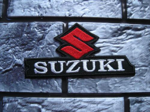 Aufnäher Patch Motorradsport Suzuki Biker-MC Motorrad Racing Tuning GT Race FX