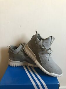 sports shoes 6e81b e9d39 Image is loading Adidas-Originals-Tubular-X-Knit-Sesame-UK9-With-