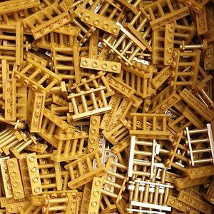 002 LEGO® 50 Stück Zäune Zaun Geländer 1 x 4 x 2 Matt Gold #15332