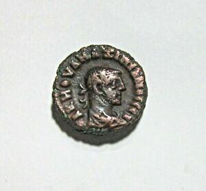 EGYPT-ALEXANDRIA-BILLON-TETRADRACHM-MAXIMIANUS-286-305-AD-NIKE-REVERSE