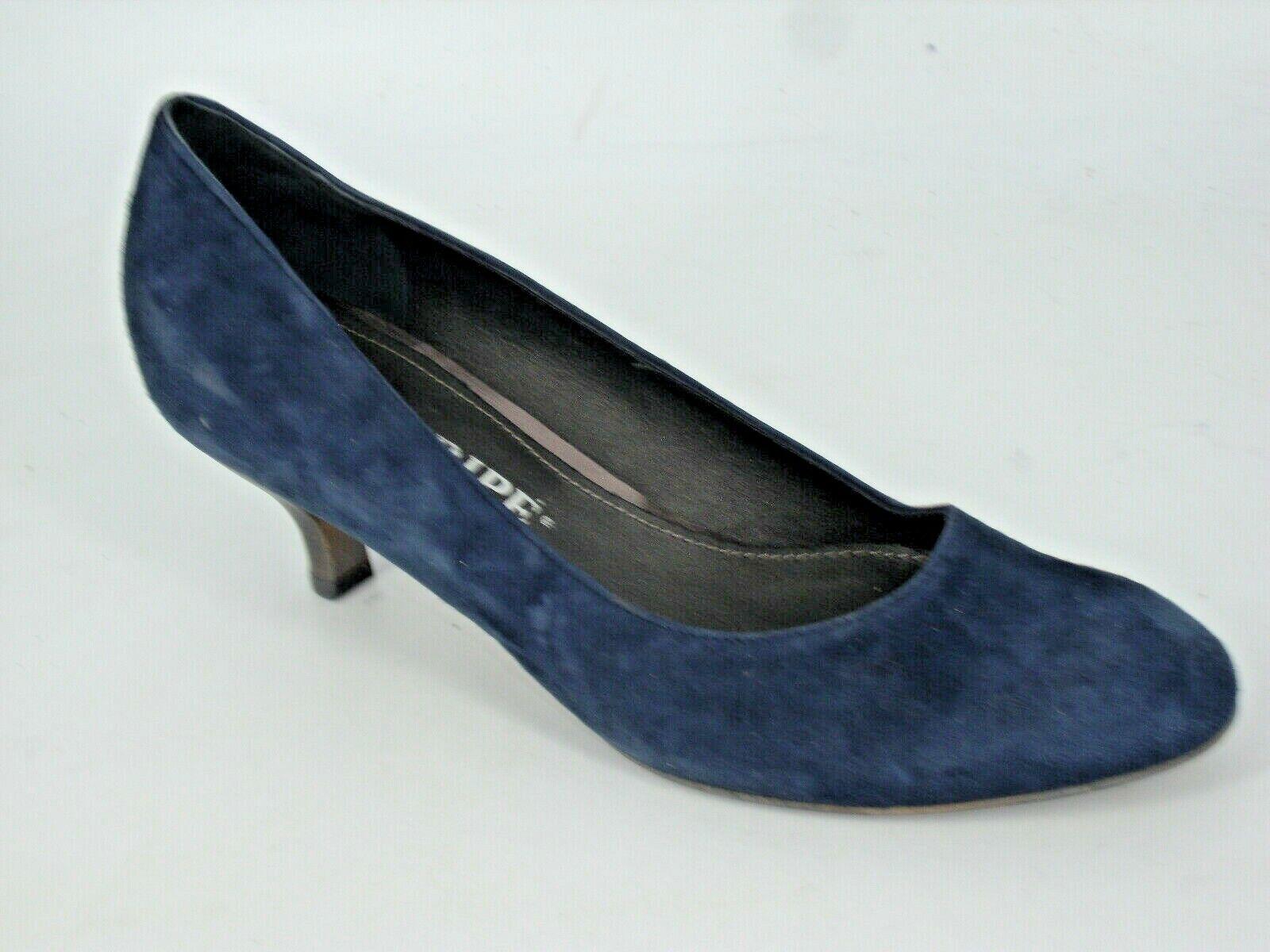 Maripe Suede Court shoes's Navy Size UK 5 EU 38 NH094 ii 08