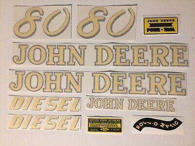 John Deere 720 Decal Set Vinyl Cut  NEW FREE SHIPPING