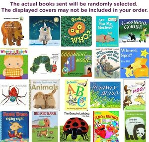 FIVE-PACK-BUNDLE-LOT-OF-CHILDREN-039-S-BOARD-BOOKS