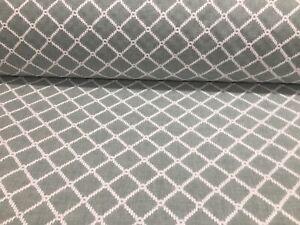 Mooring-Aqua-Trellis-Embroidered-Linen-140cm-Wide-Curtain-Upholstery-Fabric