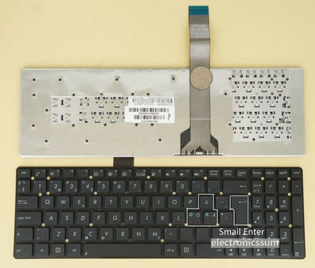Nordic Keyboard for Asus K55VJ A55VM U57A A75V K75V R500VD R700V Swedish ? ? ? ?