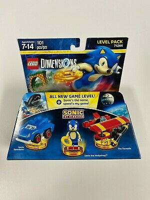 Lego Dimensions Sonic The Hedgehog Level Pack Sealed New In Box 883929529605 Ebay