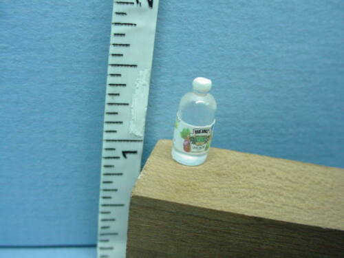 """1:24 Dollhouse Miniature White Vinegar #59986-1//2/"""" Scale Handcrafted"""
