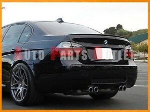 2005-2011 BMW E90 328i 335i 4Dr Painted M3 Look Trunk Lip AC Type Roof Spoiler