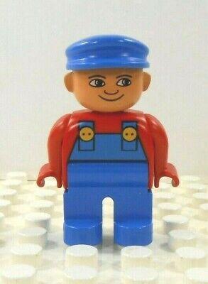 Lego Duplo Figure Train Engineer Vintage Approx. 2001
