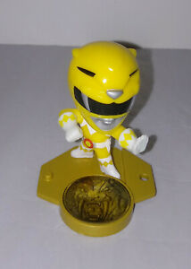 YELLOW RANGER MINI FIGURE Power Rangers Loot Crate Exclusive Yellow Ranger Trina