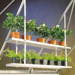 "Pair Of Shelf Brackets with Nuts /& Bolts Elite Greenhouses 10/"" Shelf Bracket Kit"