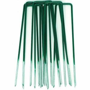 100x demi-verts- galvanisés à chaud piquets de Jardin- gazon artificiel (100) APjjAFno-07202101-168969446