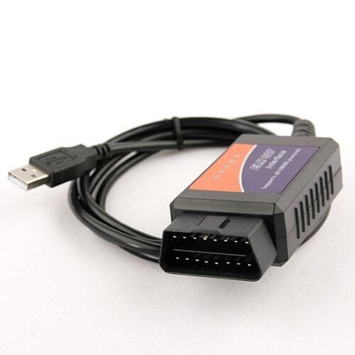 Land Rover OBD2 Car Diagnostic Code Reader ELM 327 USB Fault Scanner OBD