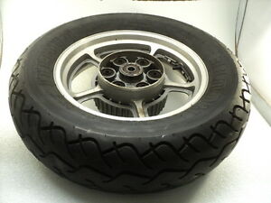 Honda-VT1100-VT-1100-Shadow-6101-Rear-Aluminum-Wheel-amp-Pirelli-Tire
