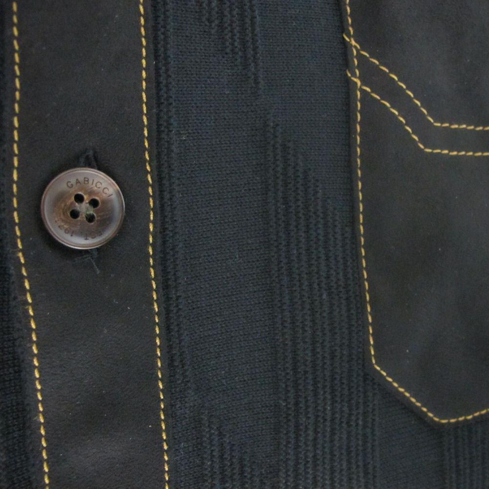 Gabicci Vintage Édition Limitée Evan Bouton 60 S Rétro Tricot Bouton Evan Cardigan ddc790