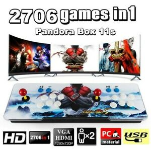 New-Pandora-039-s-Box-2706-Games-In-1-Retro-Video-Games-Double-Stick-Arcade-Console