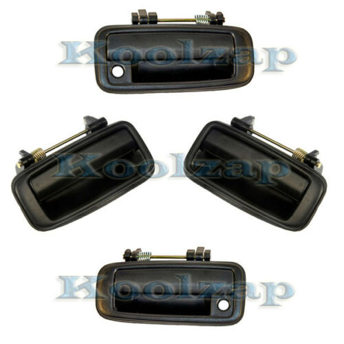 For Set of 4 Pieces 88-92 Corolla Outside Outer Exterior Door Handle Left Right