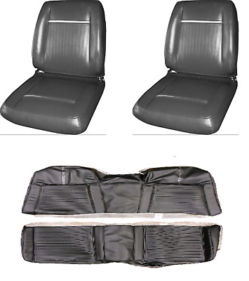Plymouth Sport Fury Bucket Seat and Rear Seat Cover Convertible 65 1965
